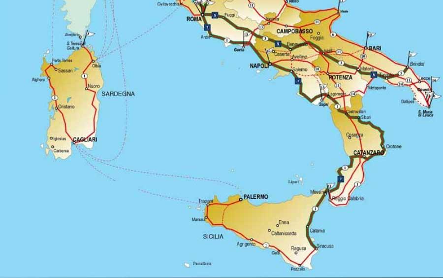 La Sicilia, Bicitalia e la Ciclovia Sibit – Med in Bike