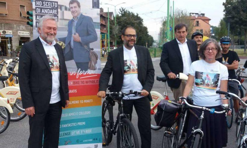 Oggi 3° Giornata Nazionale BikeToWork  promossa da FIAB