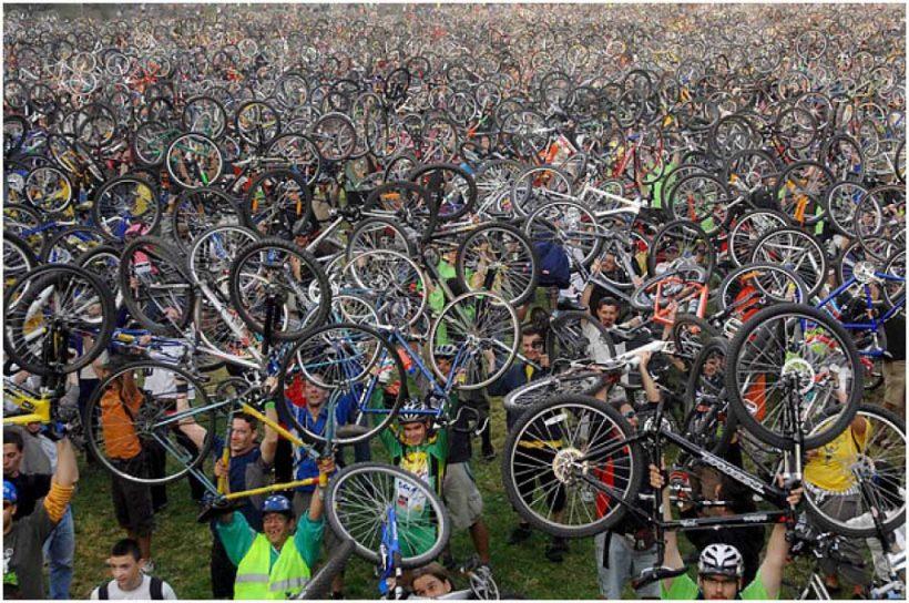 Il numero dei ciclisti è in aumento? Sì