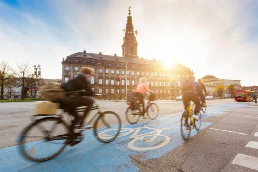 La cultura della bicicletta spina dorsale dell'identità nazionale in Danimarca