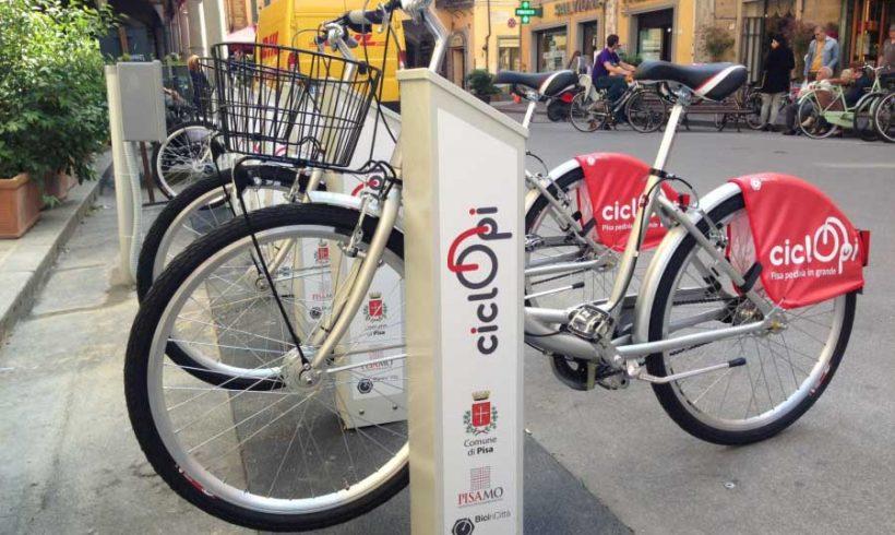 A Pisa, dove gli universitari sono il motore (sostenibile) del bike sharing
