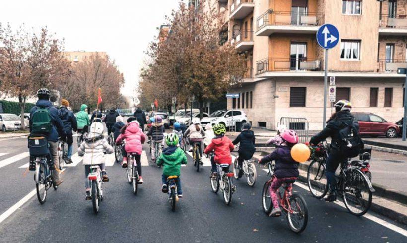 Misure anti-smog del Ministero dell'Ambiente. La bicicletta si vede poco.