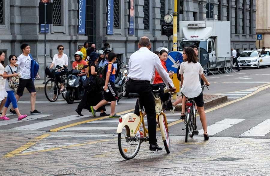 Le responsabilità verso chi va in bicicletta