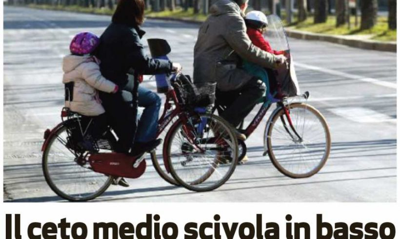 Le famiglie che scelgono la bici, per l'Arena di Verona, sono quelle impoverite dalla crisi