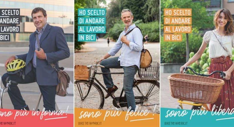 FIAB porta in Italia la sfida tra luoghi di lavoro, con il progetto europeo BikeToWork