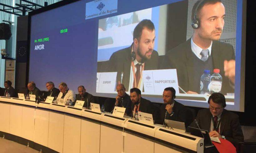 Le autorità locali e regionali dell'Unione Europea verso una strategia della ciclabilità