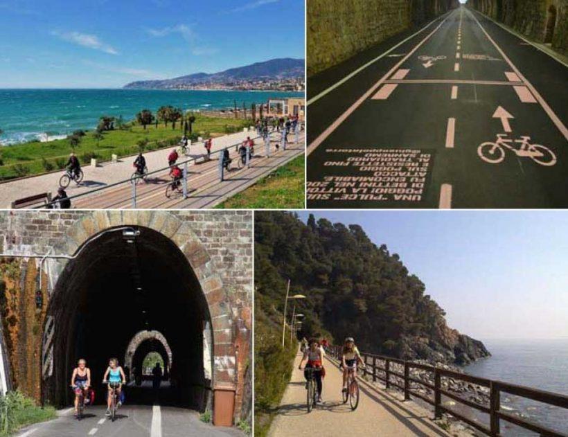 Bicistaffetta 2017: da Ventimiglia a Pisa lungo la Ciclovia Tirrenica