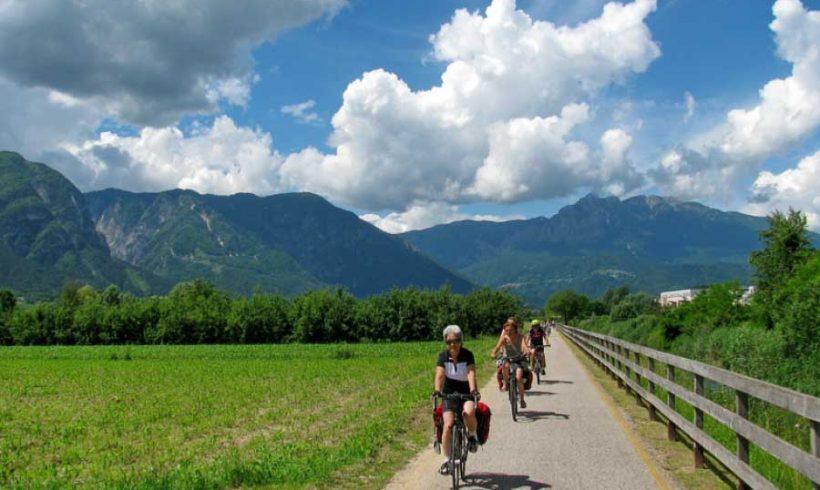 Dal Garda all'Adriatico in bicicletta