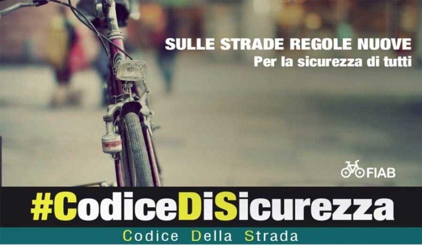 #Codicedisicurezza: al via la campagna di sensibilizzazione promossa da FIAB