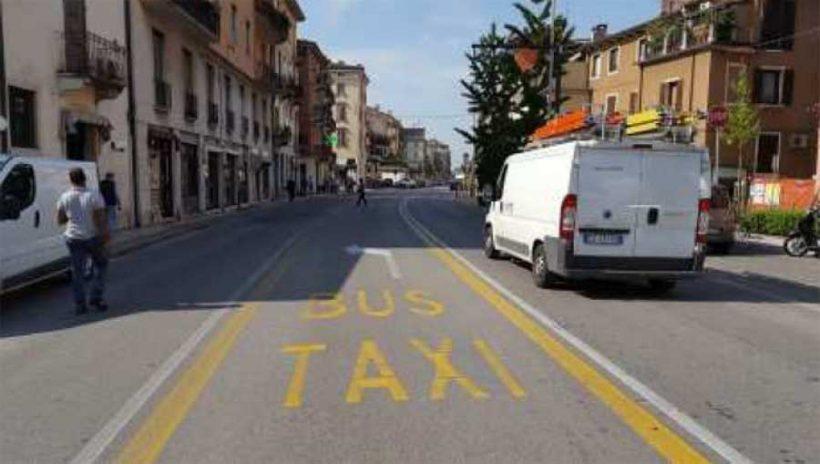 La percorribilità delle corsie preferenziali degli autobus in bicicletta