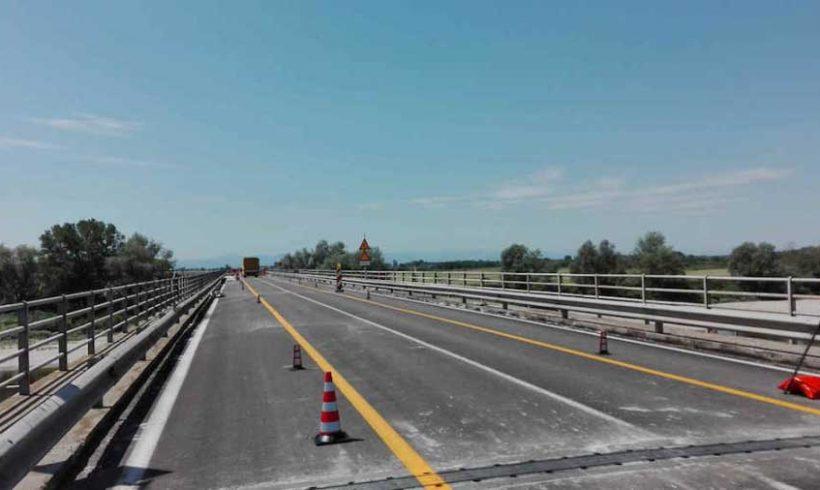 Riconvertito in ciclopedonale l'ex ponte ferroviario del Lavello