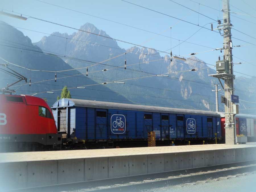 Udine-Villach in treno+bici, servizio confermato anche per il 2015