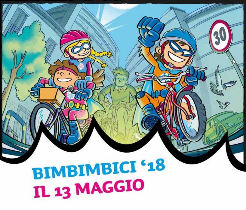 Tornano i supereroi per l'edizione 2018 di Bimbimbici: domenica 13 maggio in oltre 150 città italiane