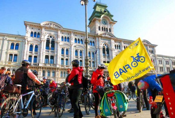 Tre candidati alla Presidenza del FVG sottoscrivono gli impegni per la ciclabilità