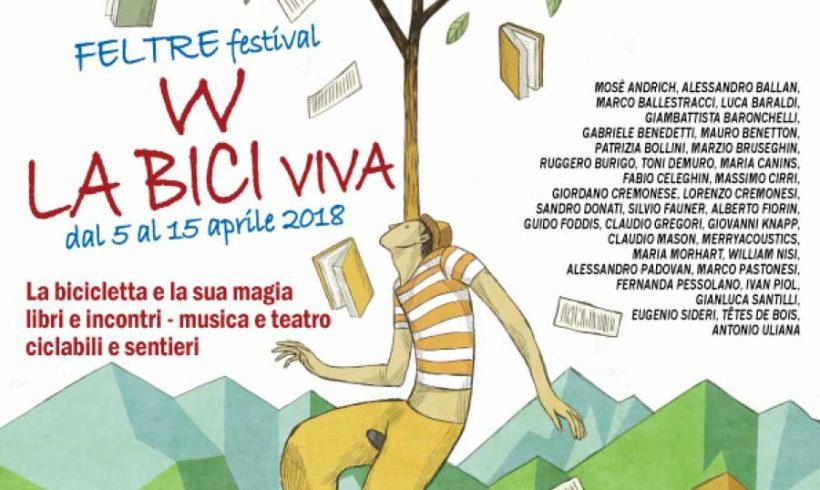 """""""W la bici viva"""": a Feltre dal 5 aprile il festival dedicato alla mobilità ciclistica"""