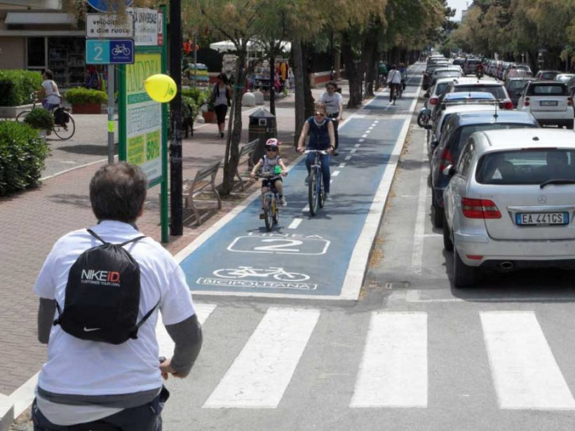 Pesaro, Comune Ciclabile 5 bike smile, ospita  l'Assemblea FIAB