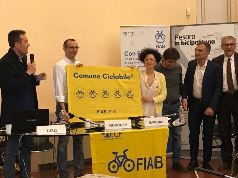 Buone pratiche all'assemblea Fiab di Pesaro
