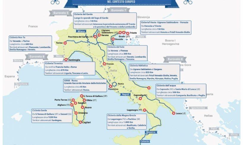A che punto sta il Sistema Nazionale delle Ciclovie Turistiche? Un primo bilancio Fiab