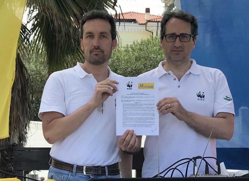 FIAB e WWF insieme: storico accordo per mobilità ciclistica e cicloturismo