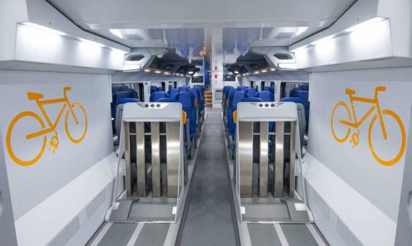 Nuovi treni Caravaggio: la tecnologia è a bordo, le bici un po' meno