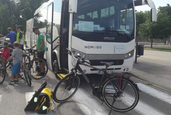 Bici+bus: tra Monfalcone e Capodistria il nuovo servizio gratuito. Il bilancio Fiab