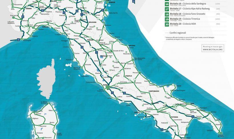 BICITALIA o Rete Nazionale Percorribilità Ciclistica 2012 – Intervista a Claudio Pedroni