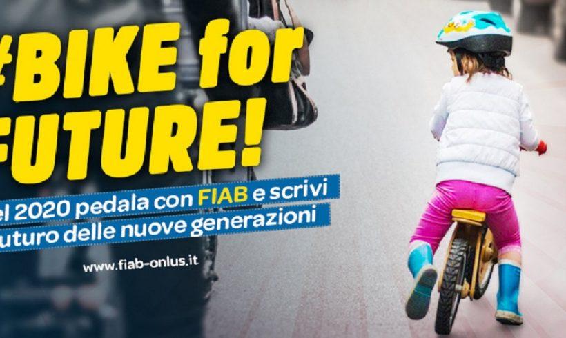 BIKE for FUTURE: ecco la nuova campagna tesseramento FIAB
