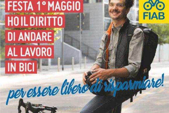 Il Primo Maggio di Fiab è il diritto ad andare al lavoro in bici