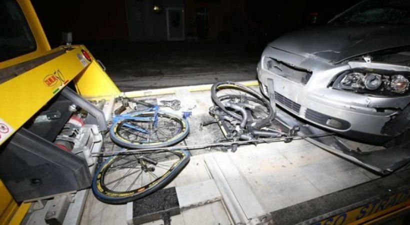 Altri due ciclisti uccisi: travolti da un automobilista ubriaco e senza assicurazione