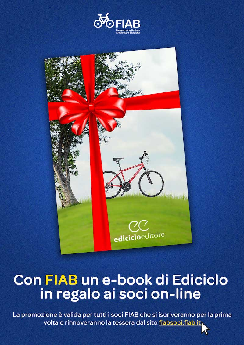Un e-book di Ediciclo in regalo ai soci on-line