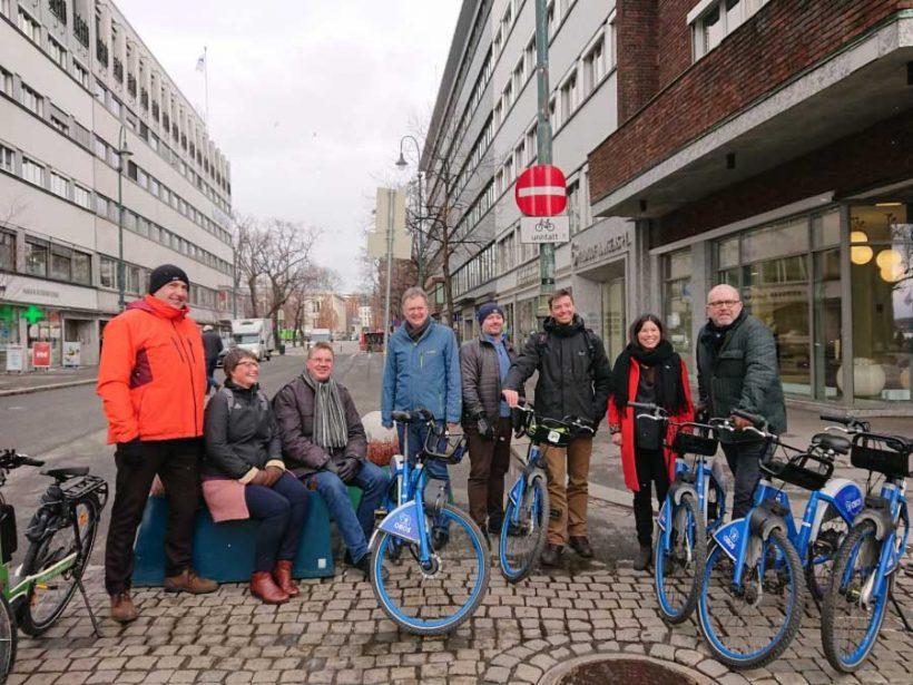 Fiab ha partecipato al G7 delle federazioni bike friendly europee a Oslo