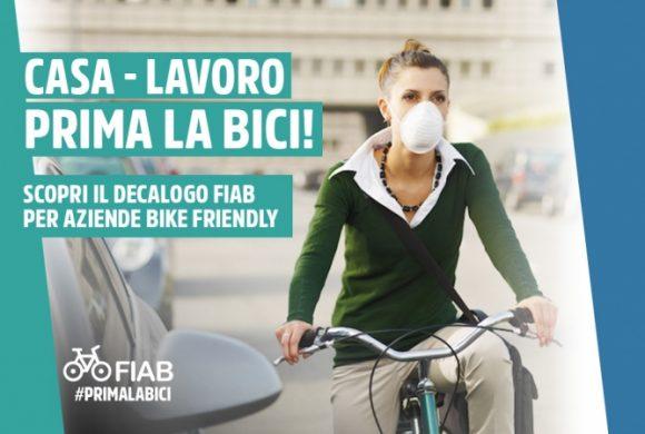 Come incentivare il bike to work? Ecco il Decalogo FIAB per le aziende