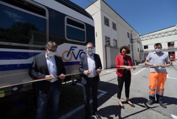 Friuli Venezia Giulia: due carrozze da 64 bici per servire la ciclovia Alpe Adria