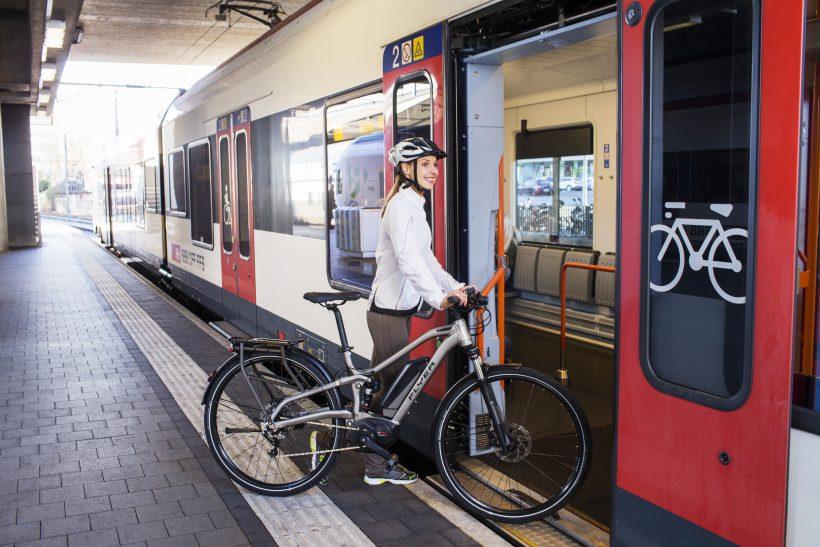 Quattro posti bici per treno. In Europa diventerà obbligatorio