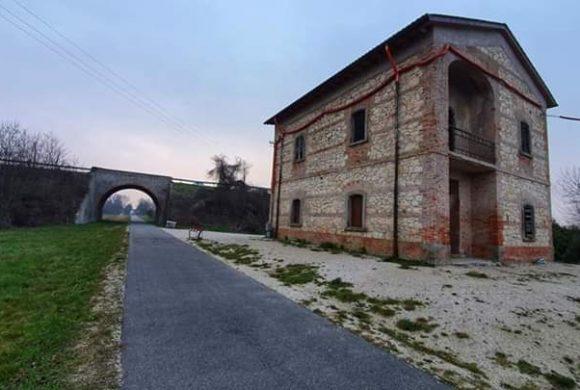 Treviso-Ostiglia: Fiab inaugura l'hub cicloturistico nell'ex casello di Grisignano di Zocco