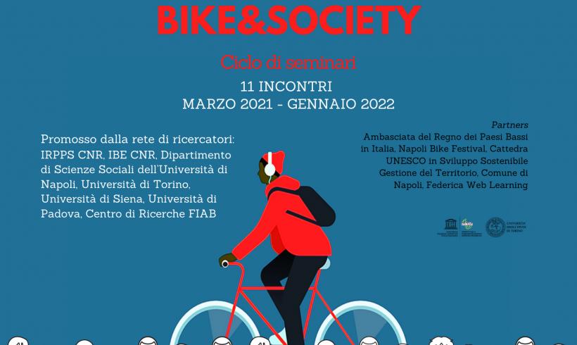 BIKE & SOCIETY: il Centro Studi FIAB nella rete di ricercatori che studiano l'evoluzione della ciclabilità
