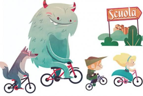 Tutti a scuola a piedi o in bici. Vale oggi più che mai