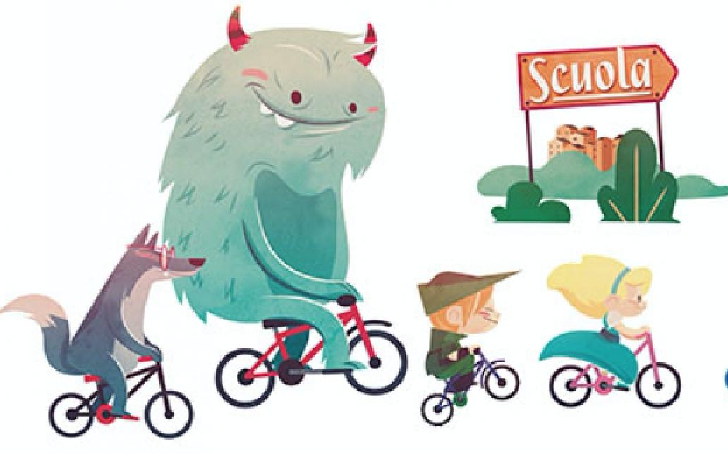 Giornata tutti a piedi e in bici di primavera