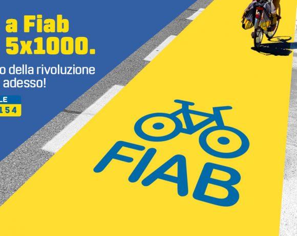 Dona il tuo 5×1000 a FIAB. Sostieni la rivoluzione ciclabile