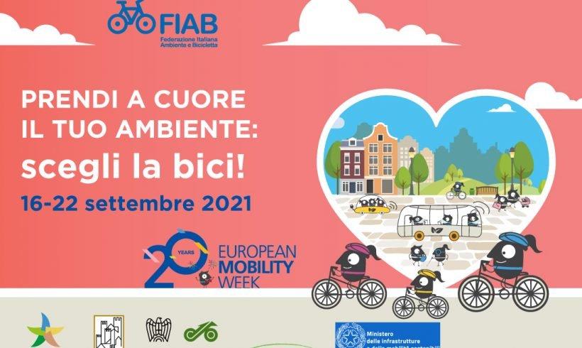 A settembre la Settimana Europea della Mobilità Sostenibile 2021: scopri tutti gli appuntamenti di FIAB