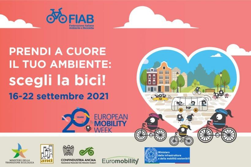 Settimana Europea della Mobilità Sostenibile: #SCEGLILABICI con FIAB