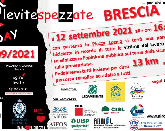 Domenica 12 settembre il #girolevitespezzateDAY: anche FIAB partecipa
