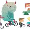 Tutti a scuola a piedi o in bici durante le prima settimana di primavera!